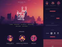 Keep Ruby Weird: Home in browser air bud ruby conference