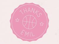 Thanks Emil!