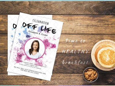 Funeral Celebration of Life Template