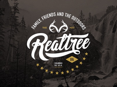 Realtree Sticker realtree camping camp outdoors patch badge