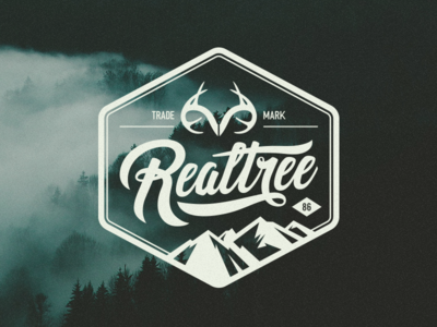 Realtree Transfer Sticker