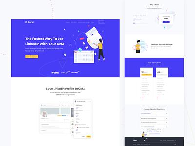 Linckr: Homepage