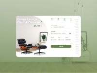 Eames Chair Payment Form