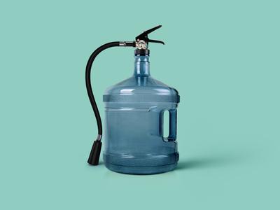 Water + Fire Extinguisher