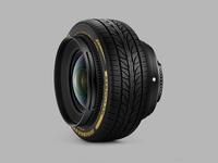 Lens + Tire