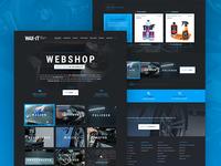 Wax-IT Website & Webshop concept