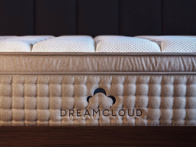 Dreamcloud - Logo mattress illustration graphic design design logo san francisco typography identity branding