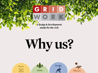 Gridwork craftcms whitney mercury portfolio