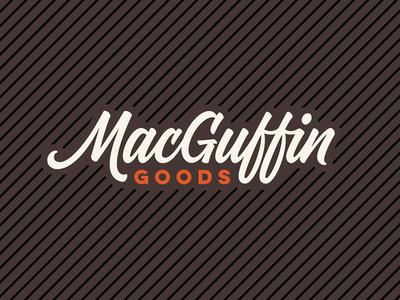 MacGuffin Goods Wordmark