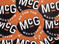 Go For The MacGuffin Stickers
