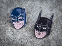 Batman Enamel Pins