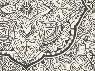 Spice Market Patterns for BasicGrey pattern illustration