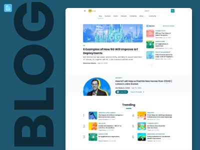 Say Hello to the New IFA Blog Experience! figma uidesign website design ui design