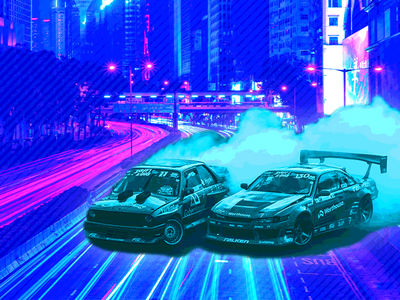IoT and the Race for the Car of the Future photoshop posterize graphic design