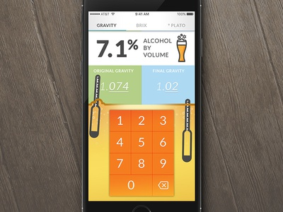 Calculator 004 dailyui004 alcohol beer calculator dailyui