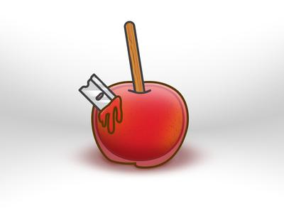 Halloween misfits halloween candy apple