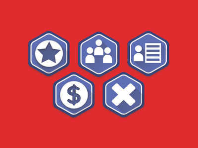 Icon Set - 200 Seconds ( iPad Game)  icon app ui ux user interface logo design ios ipad