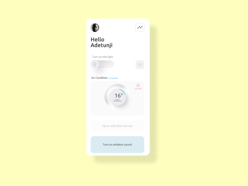Homely ux mobile utility manager home minimal minimalist new ui design skeuomorph