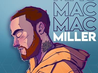 Mac Miller digitalart ipadpro procreate mac miller