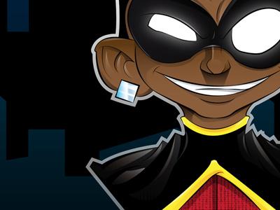 Robin  adobeillustration vector batman robin