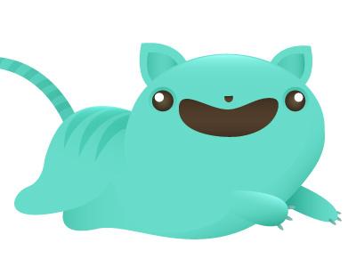 Badcat #1 illustration vector cat