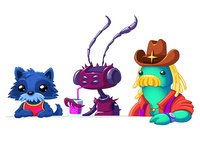 Space Cantina - Folk Aliens #2