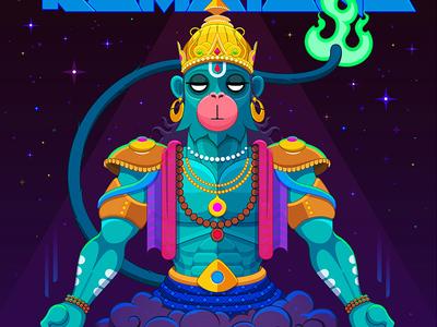 Summoning Hanuman 1/2