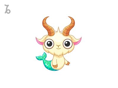 ♑Capricorn fish astrologia astrology zodiaco zodiac character design character animal earth sea goat capricornio capricorn
