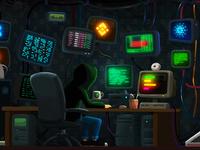 Crypto-Tower / 01. Hacker Floor