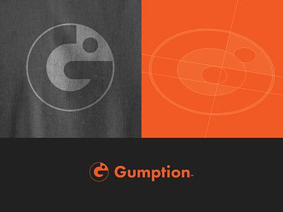 Gumption logo exploration chameleon icon brand mark logo clarance