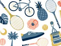 Tennis Doodles