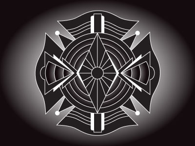 Art Deco Maltese cross - No. 1
