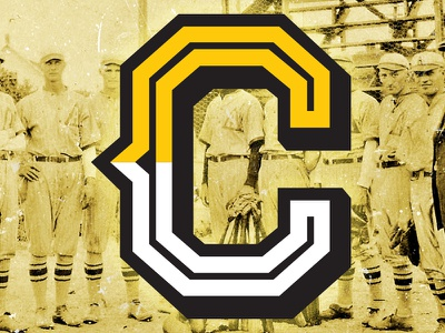 "Cross Timber Crows ""C"" baseball branding identity sports design sports letter"