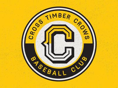 Cross Timber Crows - Circle Patch Logo