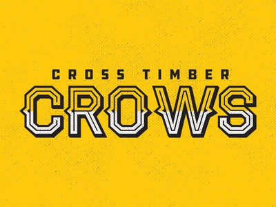 Cross Timber Crows - Full Name Mark