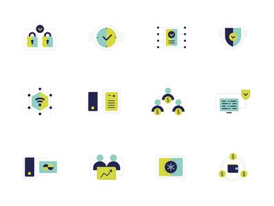 Fincor Icons Set