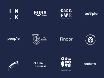 Logofolio Vol 1 ideas concept branding concept logo design icon icons typography type logo logo logofolio branding