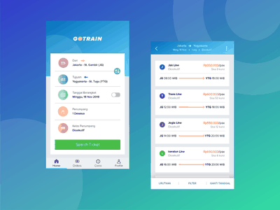 App about Purchasing Train Tickets debut train ticket booking uiux mobile app welovedesign dribbble flat ux icon app design ui