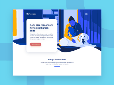 Pet Care web vector ui petshop pet illustration flat doctor design app animal