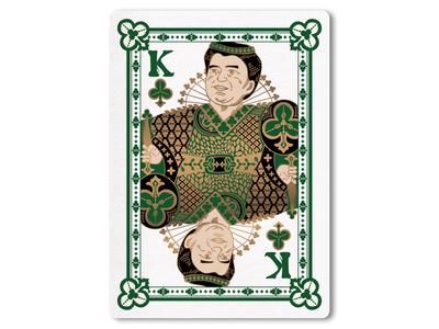 44A Trump card / Clover K
