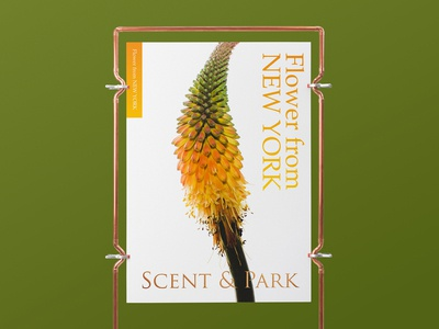 Scent&Park Art poster