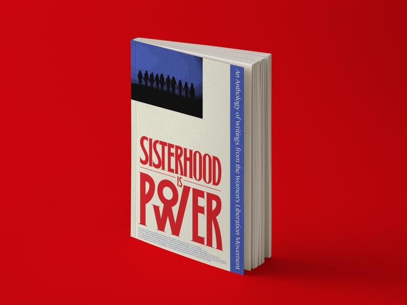 Sisterhood is Power! book cover design bookdesign book covers typographic poster artposter typographic typography graphic design graphicdesign graphic art illust artwork illustration graphic deisgn graphic art