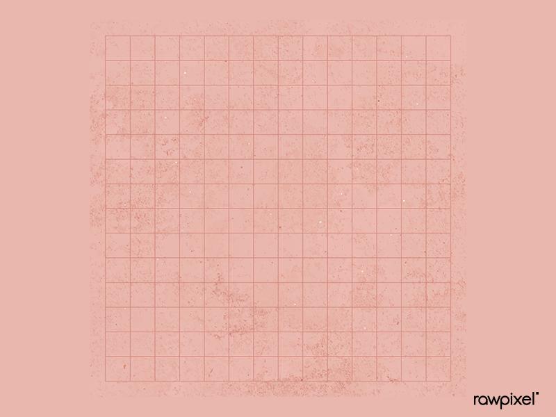 Ruled peach background vector