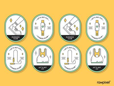 Health & Fitness Badges