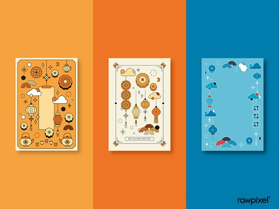 Chinese Festival Card Set
