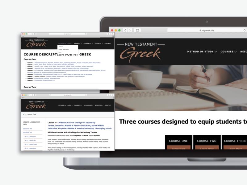 Educational Website Design front-end design education digital design website website design