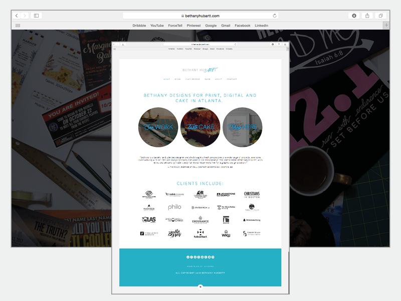 Graphic Designer's Website Design branding ux design digital design website web design graphic design