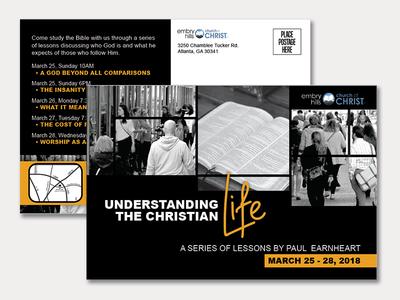 Event Postcard Design
