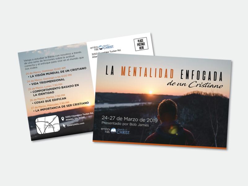 Spanish Church Postcard design typography postcard spanish