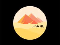 Circle fit minimal illustration series #2